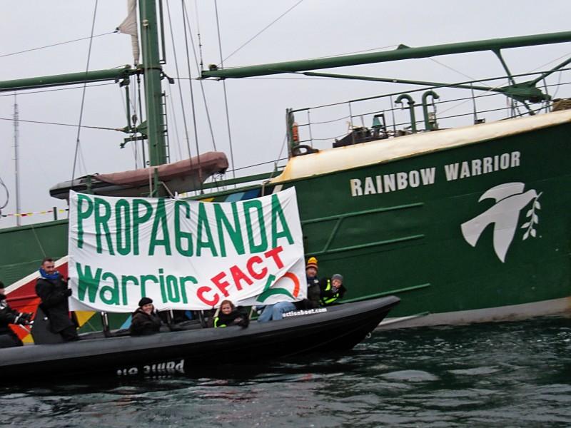 PHOTO Propaganda Warrior