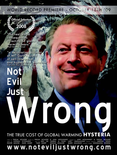 Not Evil Just Wrong, Documentary