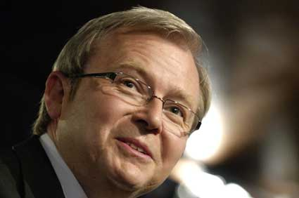 Photo: Kevin Rudd