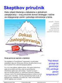 The Balkans translation of The Skeptics Handbook
