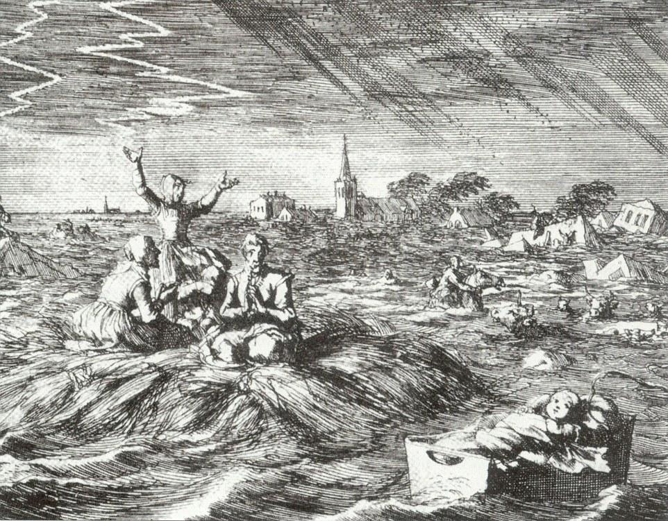 1717 Christmas floods