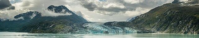 Lamplugh Glacier, Glacier Bay National Park, Alaska, United States