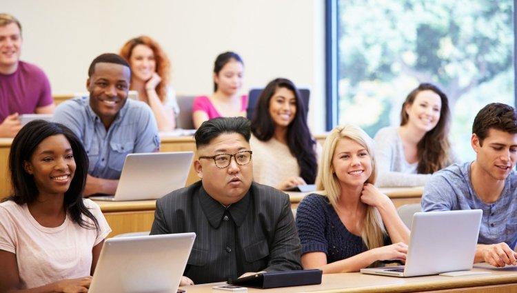 Kim Jong Un attends WEstern Universities