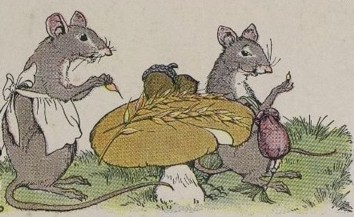 Town mice and country mice.