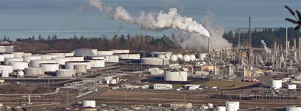 Anacortes Refinery, Washington. USA