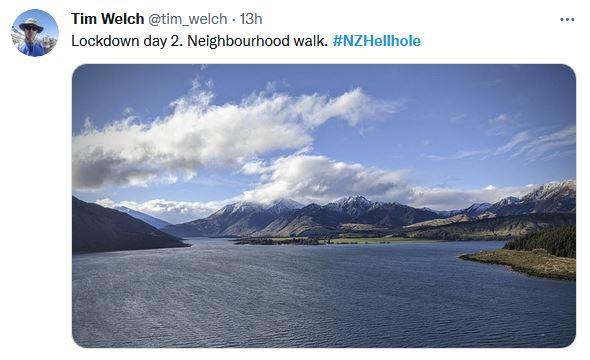 NZ Hellhole, lockdown Day 2.