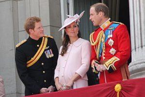 Prince William, Kate, Harry.