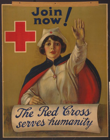 The Red Cross serves humanity