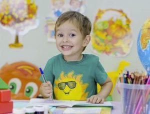 Boy at school./