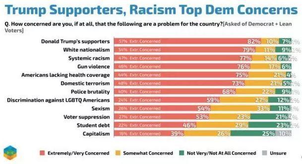 Democrats survey, fear Trump supporters